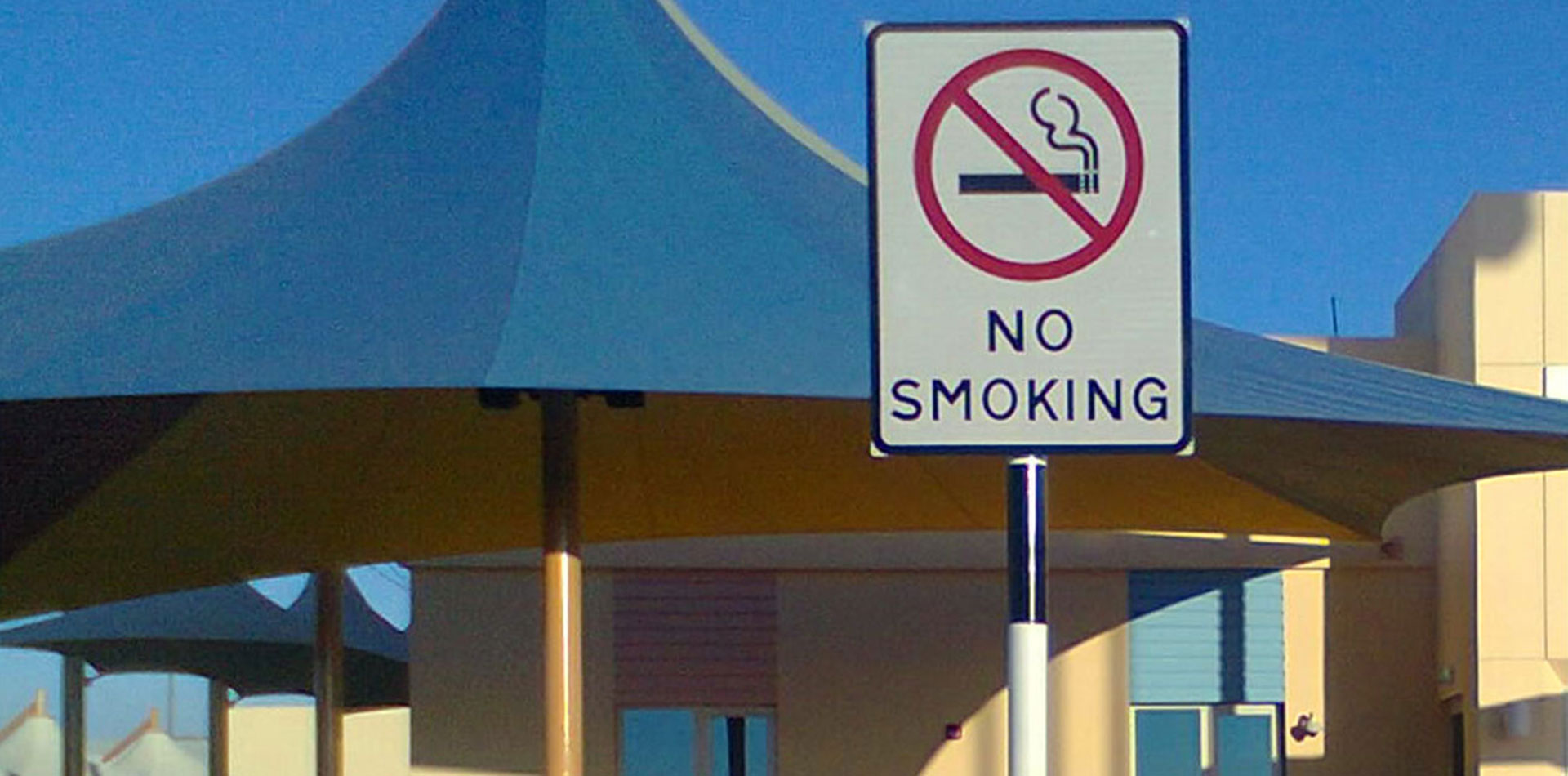 No Smoking Warning Signage