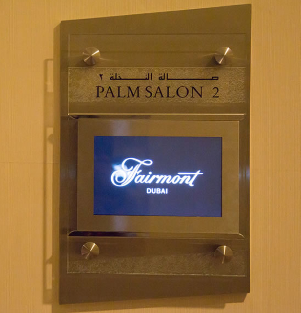 Mirror TV at Fairmont