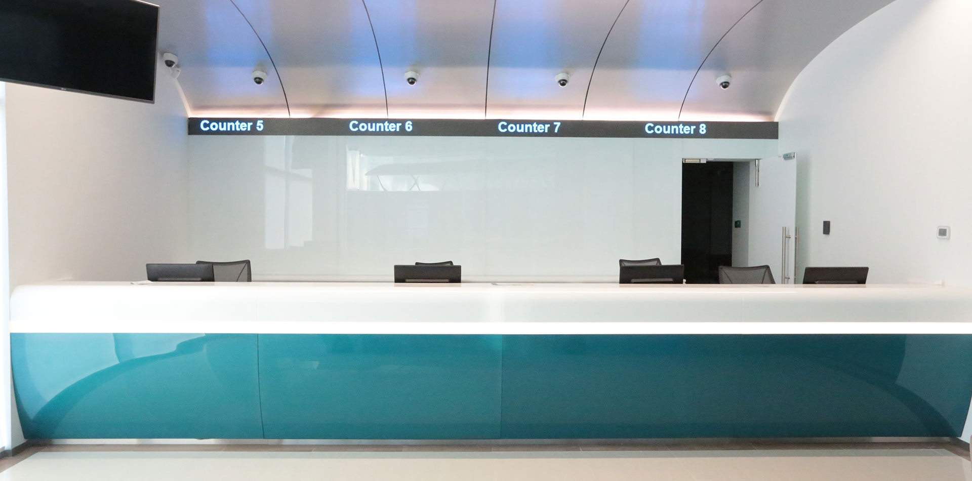 LED ticker project completion of CBD